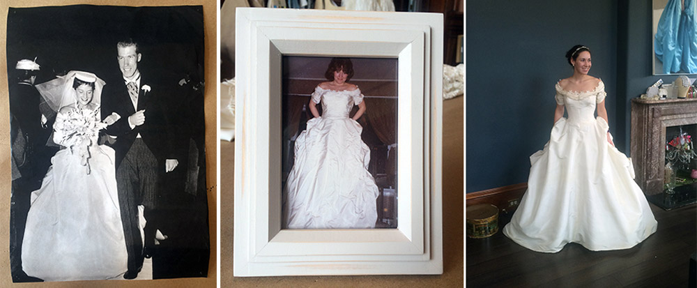 Grandmother, mother, daughter – three generations of brides!