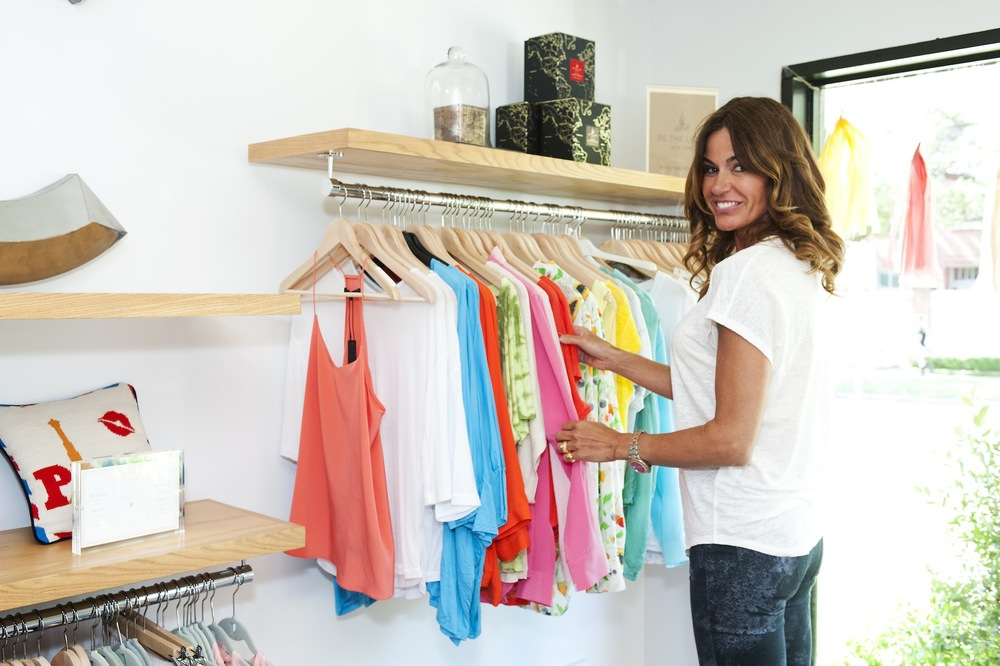 Kelly Bensimon browsing at Cakewalk Style Shop in Houston.jpg