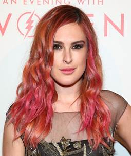 Would you rock this pretty pink hair?