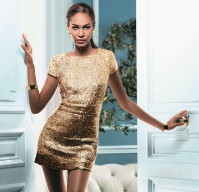 Doesn't Joan Smalls look amazing in the ad!