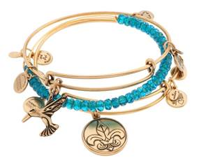 """Alex and Ani """"Infinite Hope"""" Set of Three Expandable Wire BanglesQVCItem #S7376 Special SuperSaturdayLIVE Price: Approximately $49.00"""