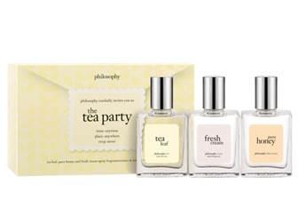 philosophy let's have a tea party box setQVCItem #S7532 Special SuperSaturdayLIVE Price: Approximately $20.00