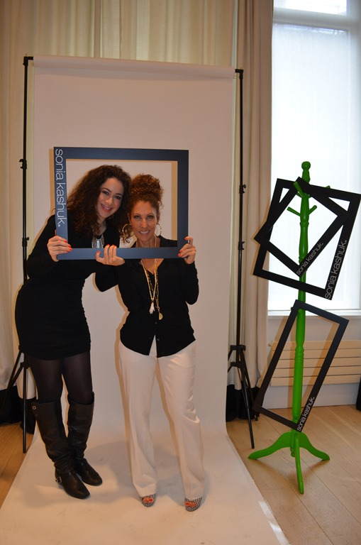 LeAura & Sonia at her studio in NYC