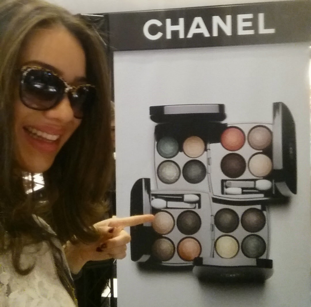 NYC Chanel event for Les 4 Ombres