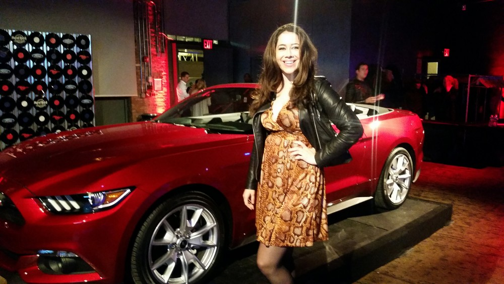 EverSoPopular: LeAura At Mustang Roadhouse Event