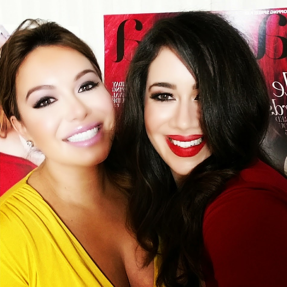 LeAura Luciano & Chiquis Rivera On The Red Carpet EverSoPopular Latina 30Under30