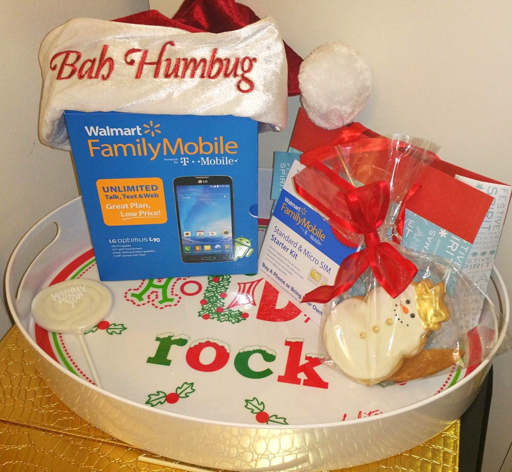 Ring in the Holidays with Walmart Family Mobile