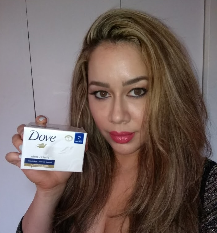 Plotting against dry skin with the Dove Beauty Bar