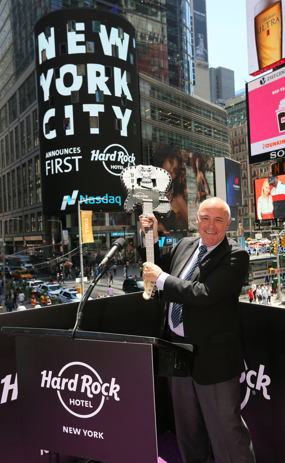 Hard Rock International's CEO Hamish Dodds at the Hard Rock Hotel New York Official Unveiling Event.jpg