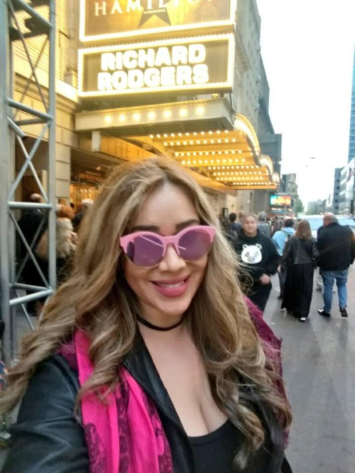 LeAura seeing Hamilton in NY