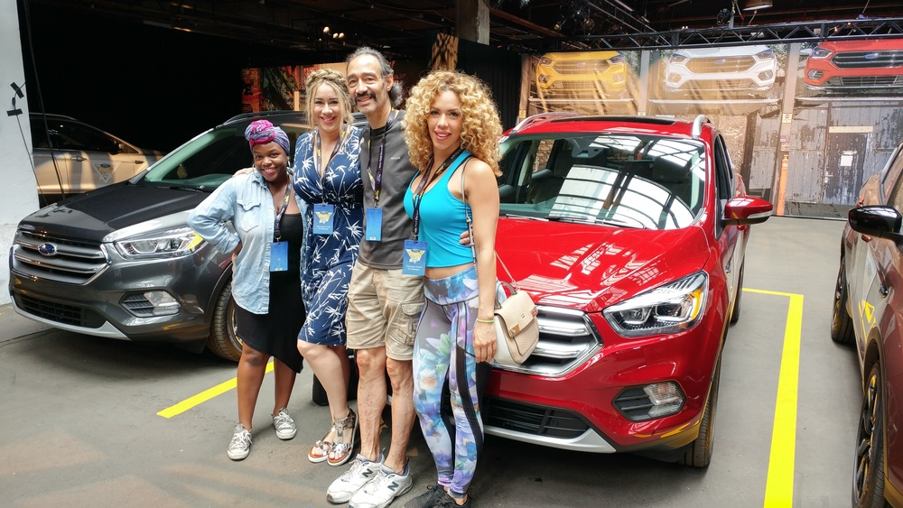Kadia, LeAura, Richard, Layla and the Ford Escape!
