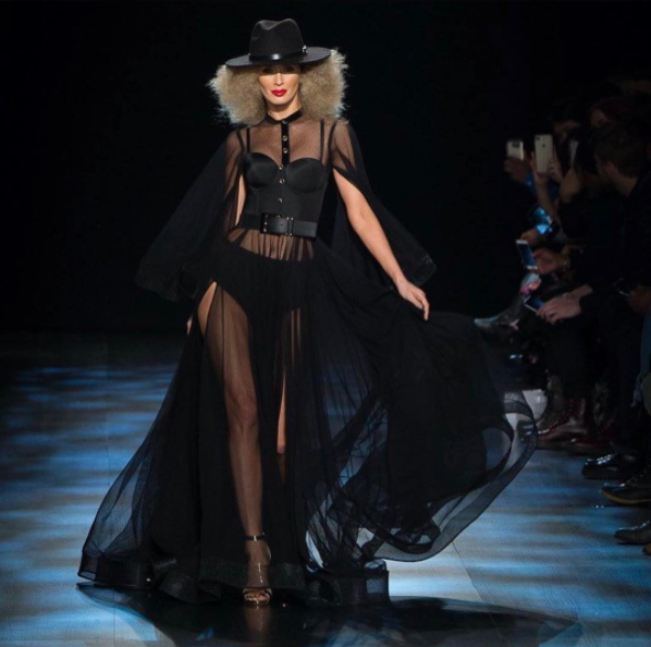 Runway look at Michael Costello