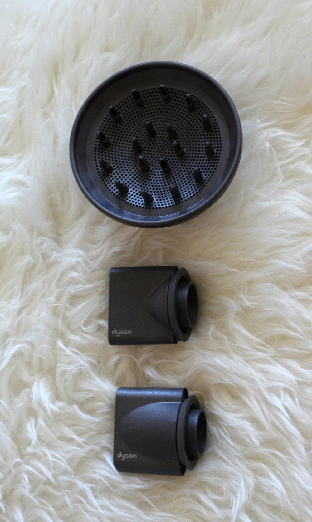Dyson Supersonic hair dryer attachments