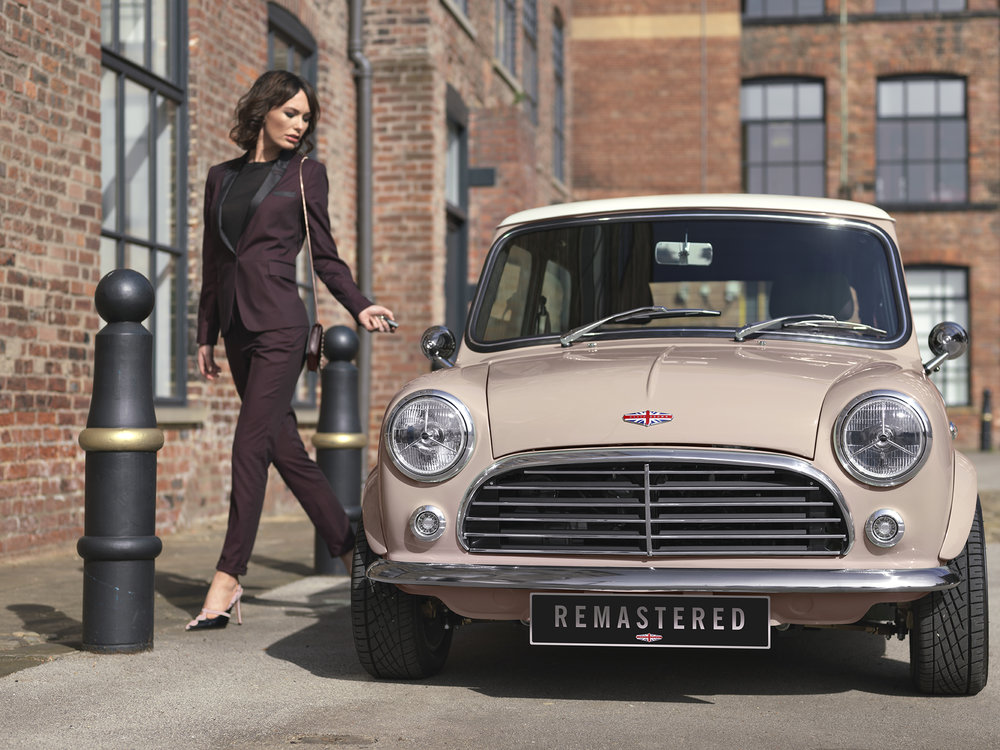 Mini Remastered by David Brown Automotive launched in Shoreditch, London