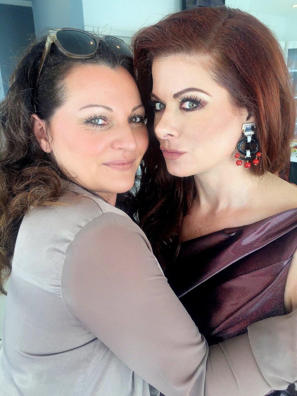 Debra Messing and Jeannia Robinette 2.JPG