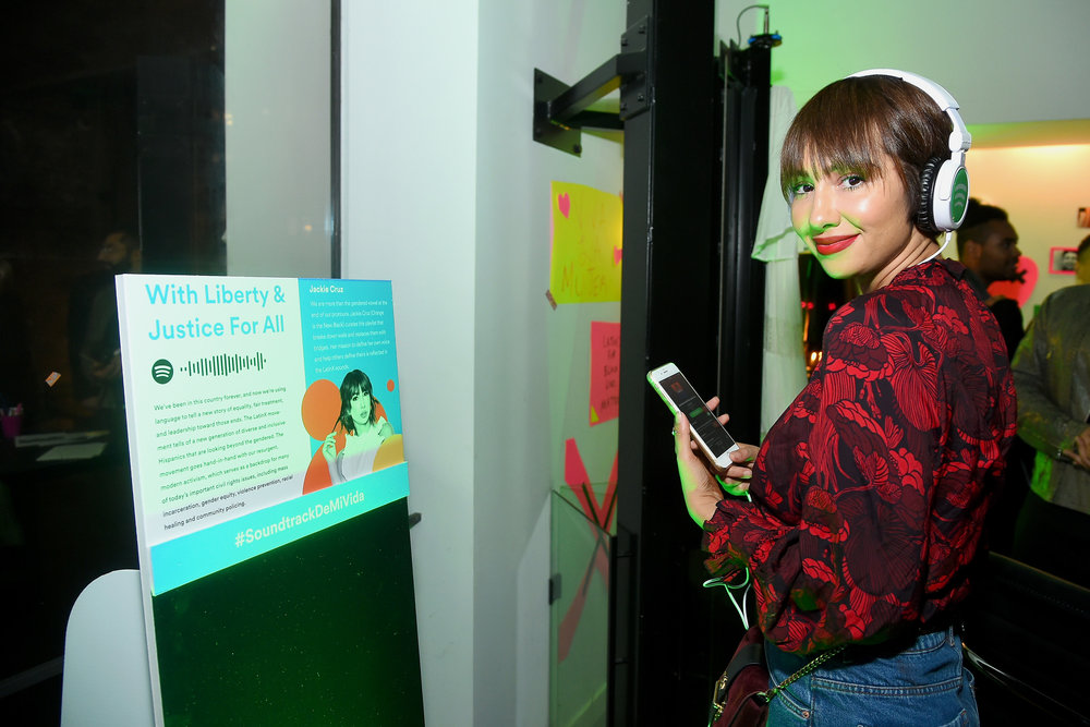 Jackie Cruz at Spotify's Soundtrack de Mi Vida Campaign Celebration.jpg