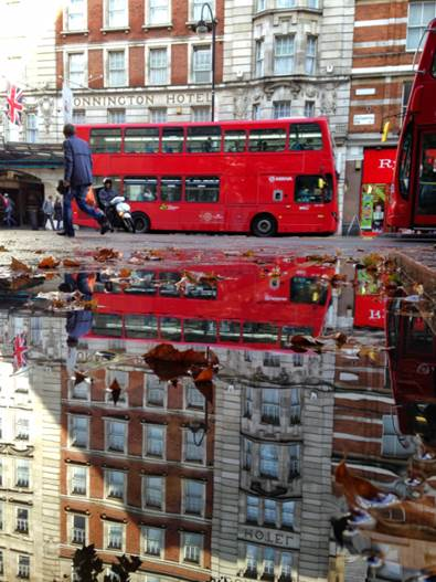 Crissibeth's puddlegram in London