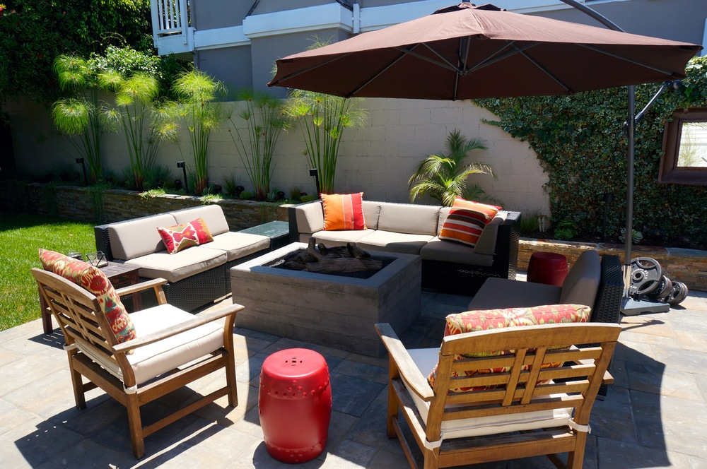indoor outdoor living spaces design manhattan beach tree section indoor outdoor living space hollingsworth witteman construction inc