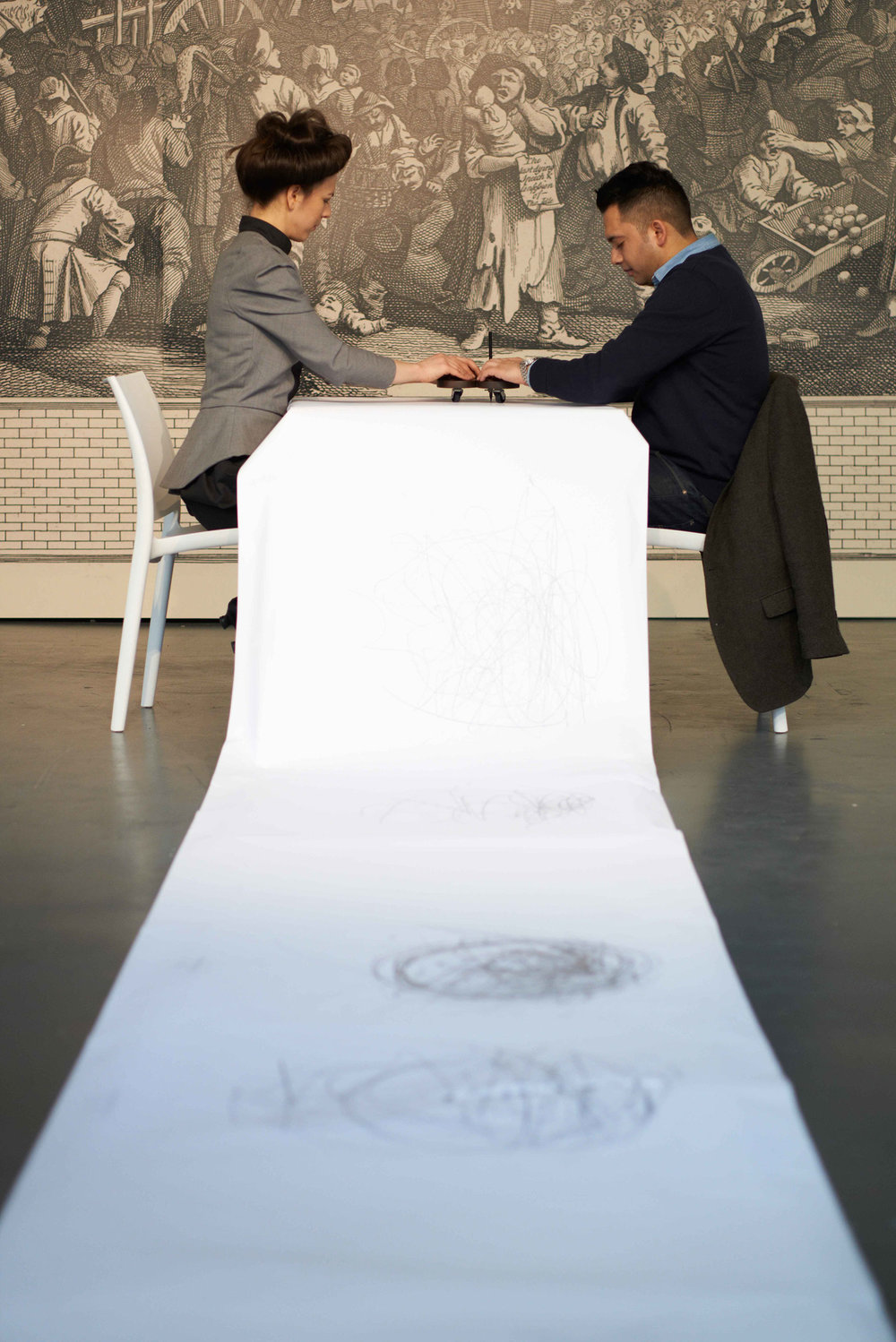 Conversation Piece, performance with participant, 2013