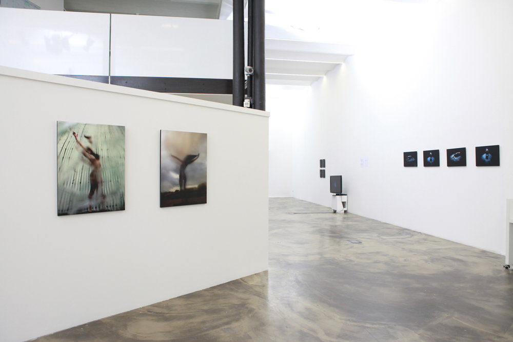 Displacements, installation view, 2011