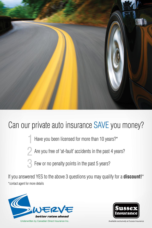 swerve private auto insurance ava famili