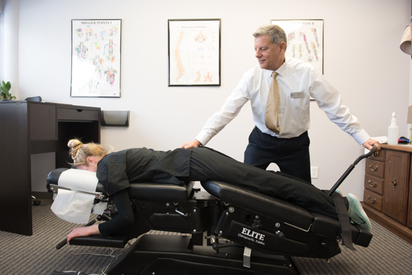 DROP TABLE TECHNIQUE - The drop table technique is a safer and more effective way to perform spinal manipulation. The drop table was invented after Dr. J Clay Thompson noticed that his patients were seeing favorable results when using a