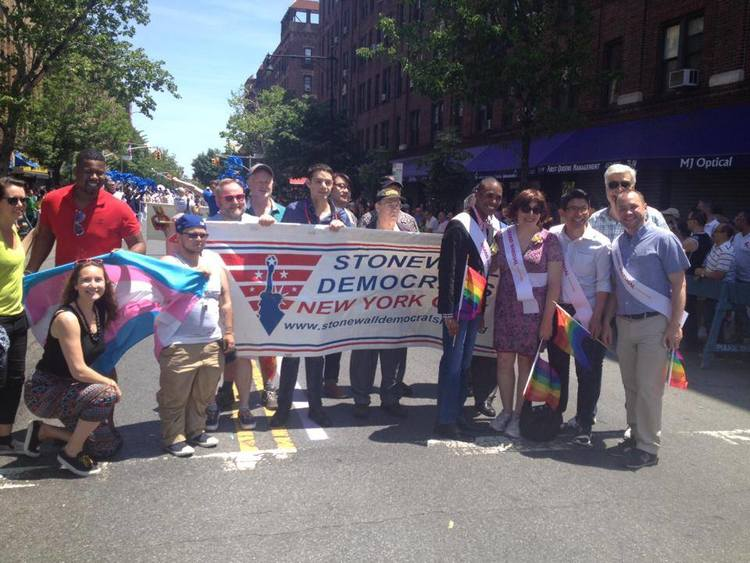 Stonewall Democrats at Queens Pride