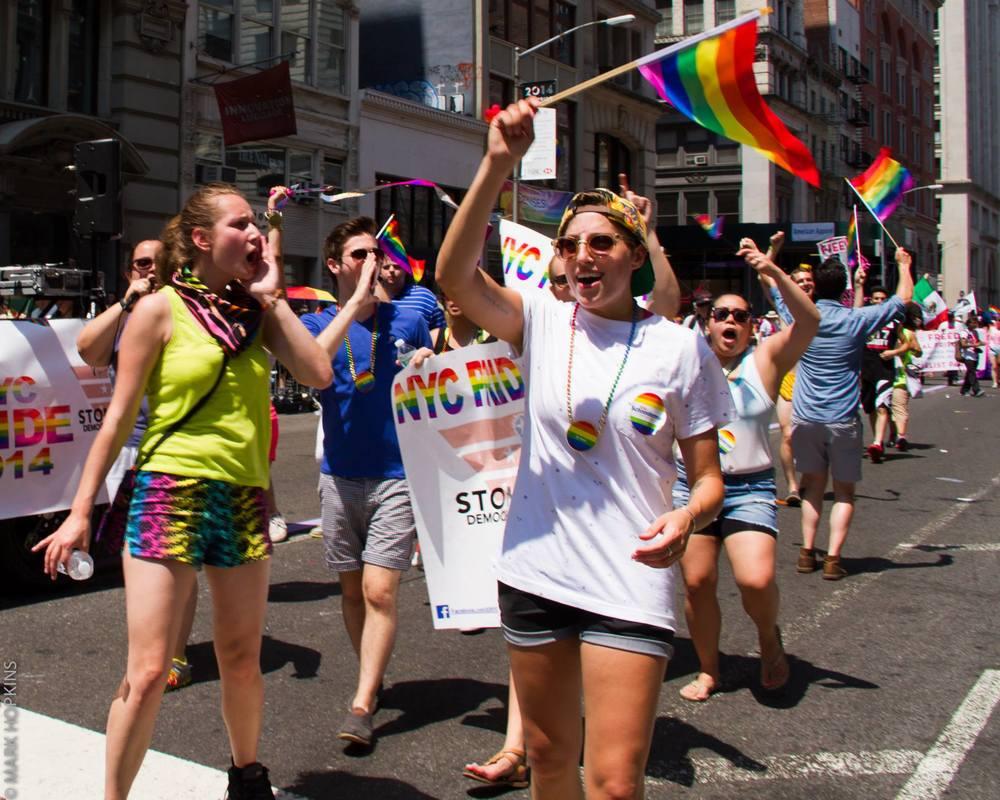 SDNY NYC Pride 2014 - Photo Credit: Mark Hopkins Photography