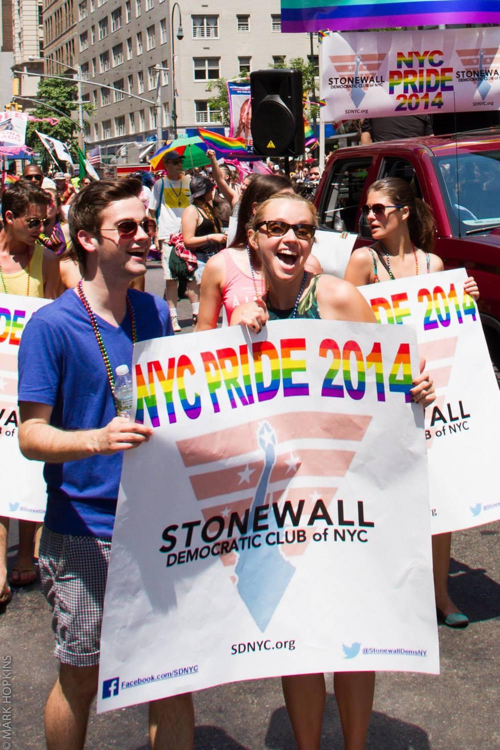 NYC Pride 2014 - Photo Credit: Mark Hopkins Photography