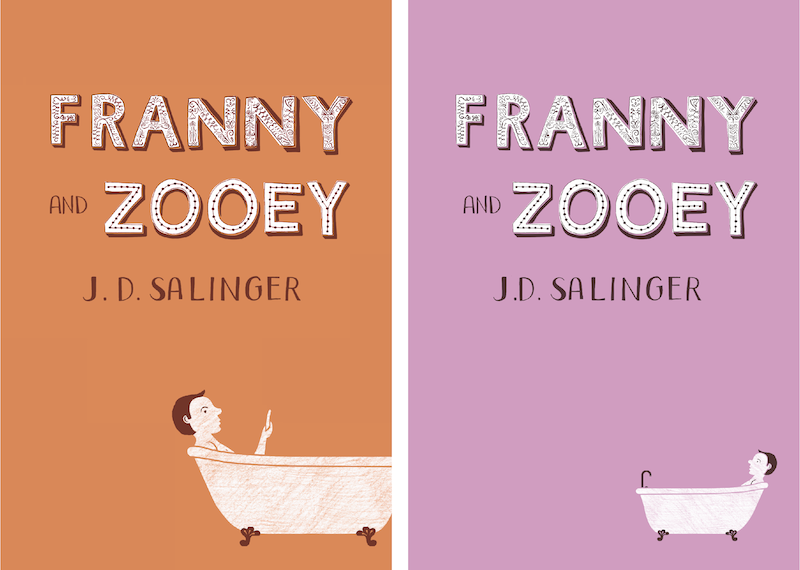 the similarities in jd salingers stories fanny and zooey (21 pp of double-spaced typescript with the byline jd salinger) this unpublished story is set in funny and riddled with a story of similar.
