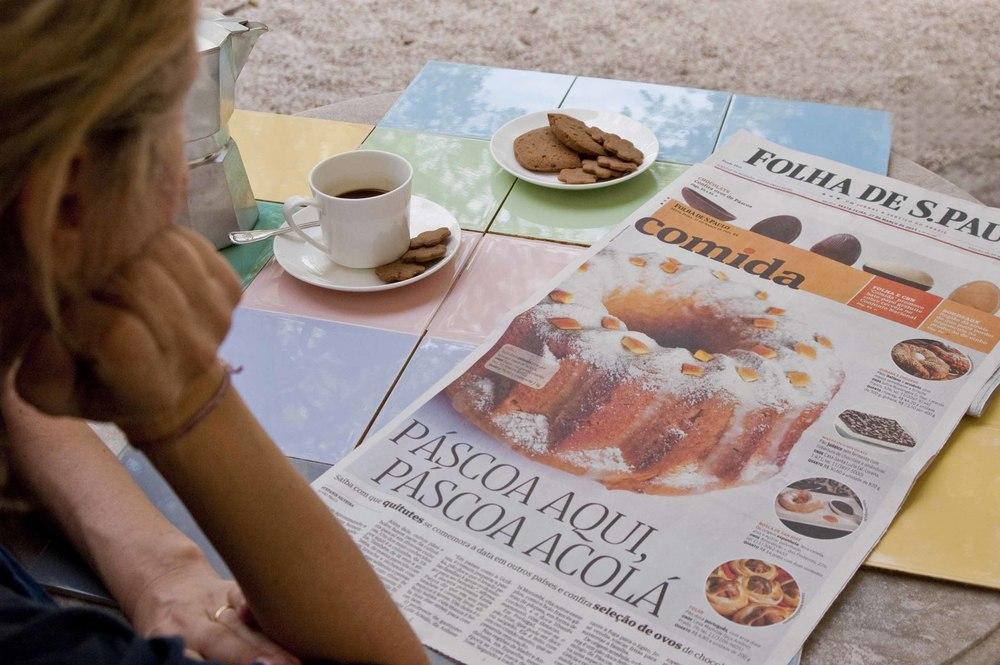 Folha de São Paulo, Comida, 27.03.2015.