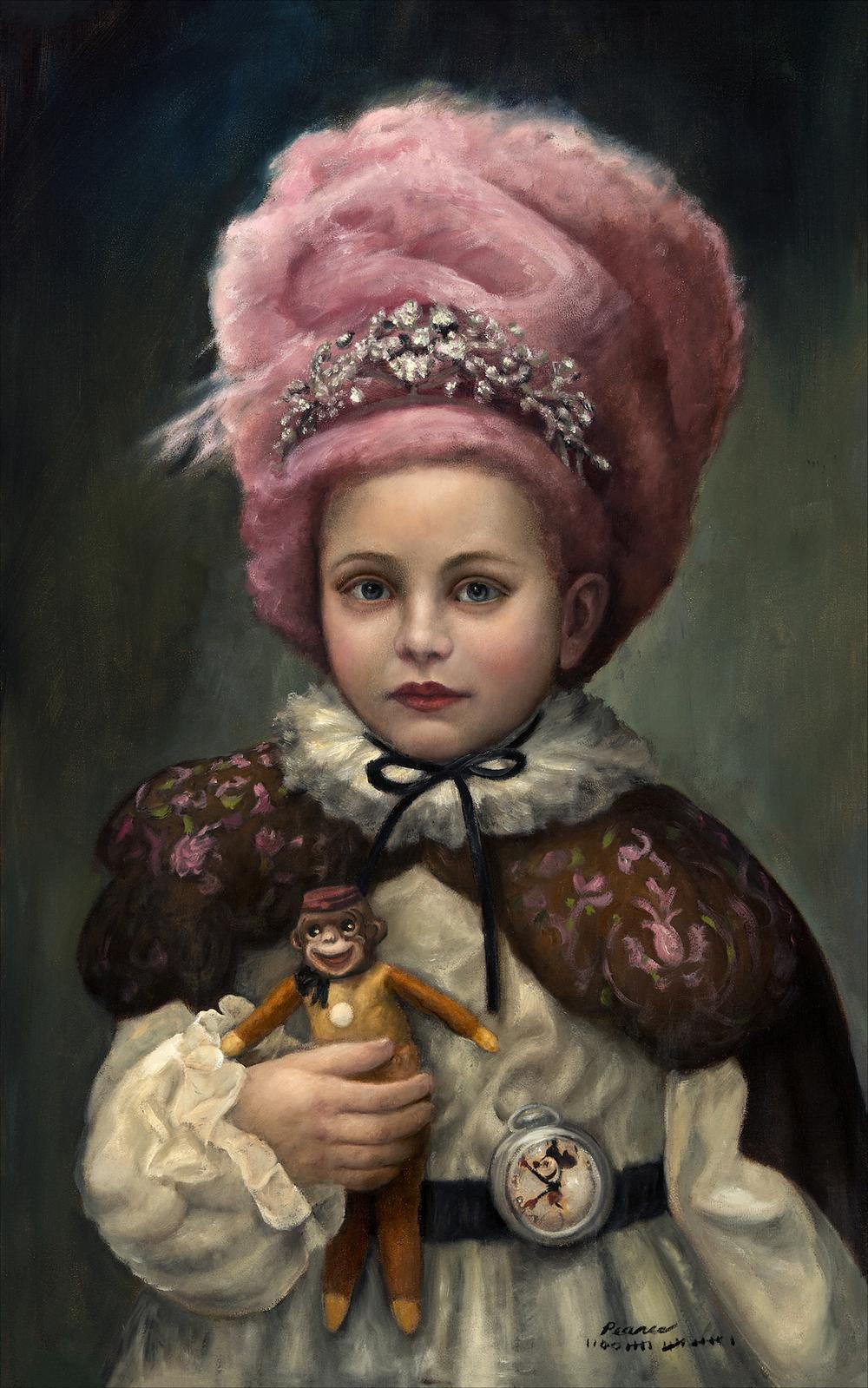 """""""Princess Cotton"""" 15 x 24 inches 1016 Oil"""