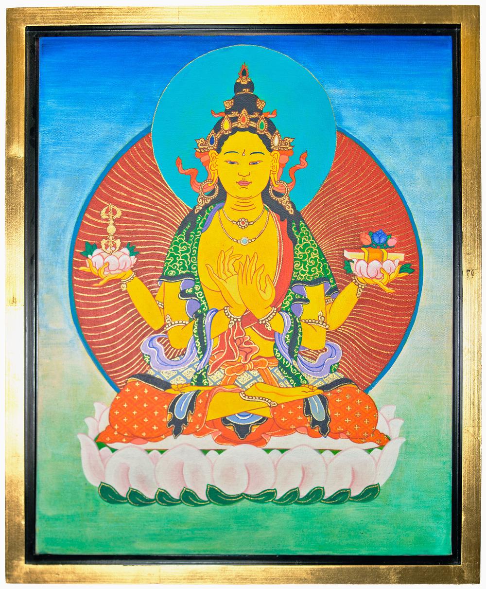 "Prajnaparamita,""the Perfection of (Transcendent) Wisdom."", by Timothy Eyes"