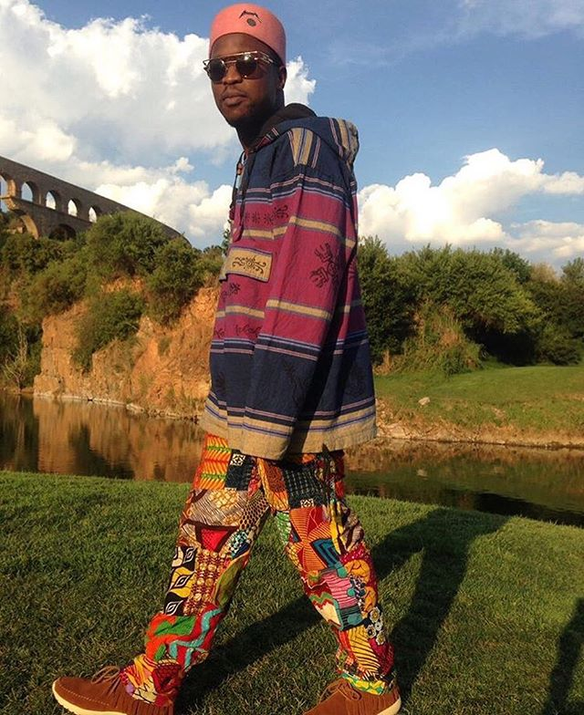 @theonlyscoopmakhathini  taking the custom mocs for a stroll in #SouthAfrica cc @calculatedinc ..... 🙏🏾☑️🌍