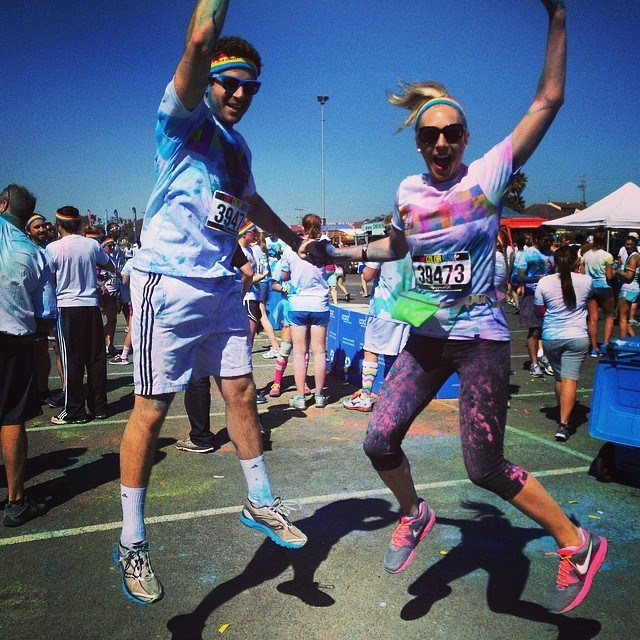 sf color run.