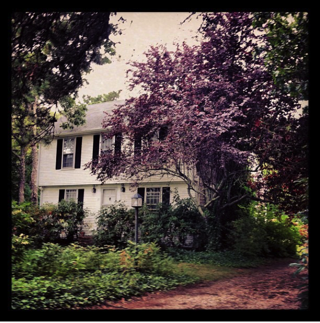 our home when we were in cape cod.