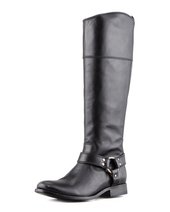 frye melissa harness riding boot.