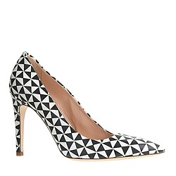 j.crew. falsetto pumps, fresh cream.