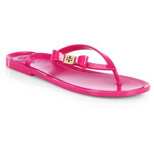tory burch, michaela jelly flip flop.