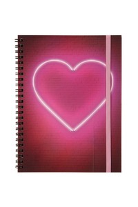 heart notebook. <3