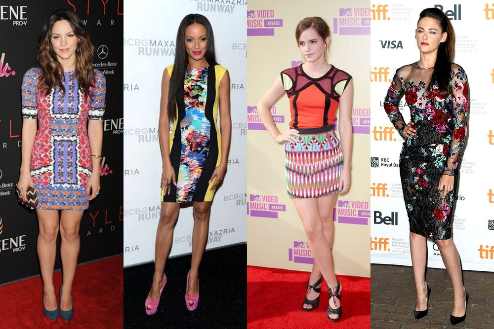 celebrities love perfect peter pilotto.