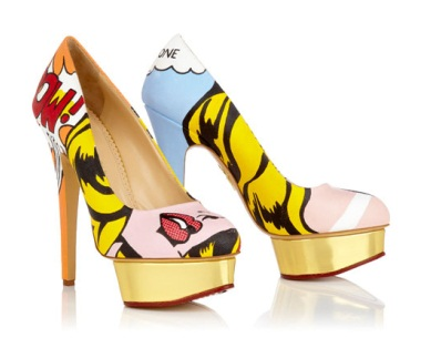 perfect pop art pair.