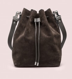 large bucket bag.