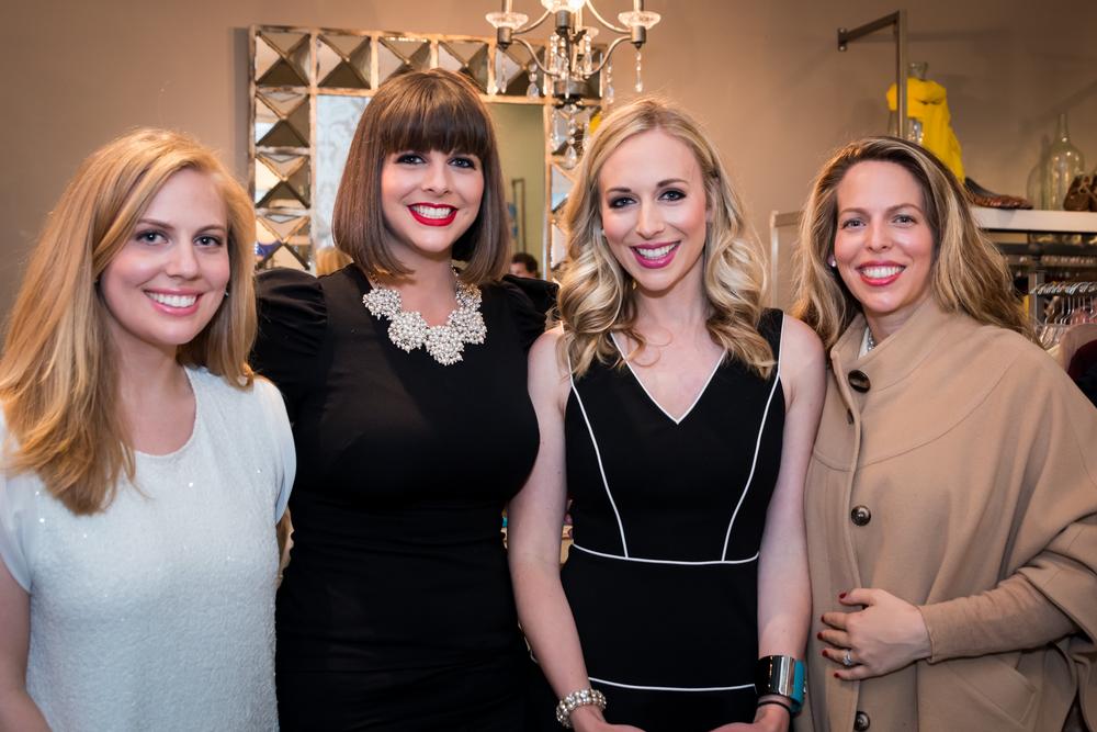 Claire Curran, Colleen Curran, Caroline Curran, Caitlin Curran.