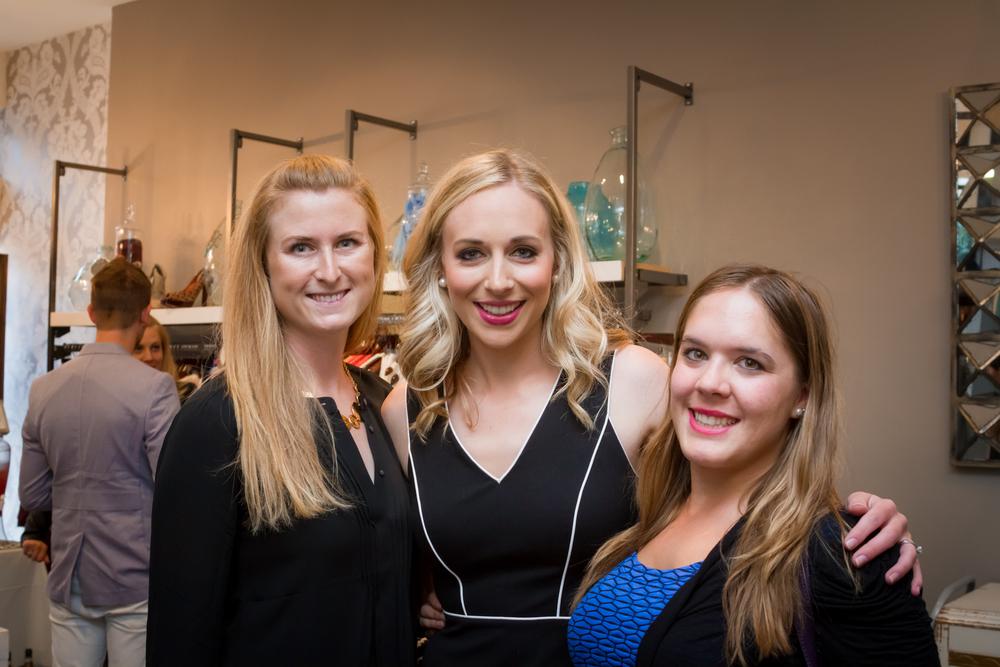 Caitie Carpenter, Caroline Curran, Danielle Ritenour.