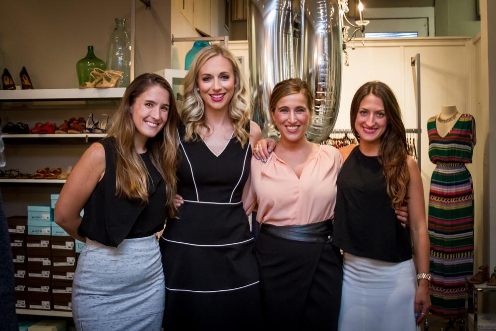 Katie Lawson, Caroline Curran, Jenna Moore, Natalie Rizzo.