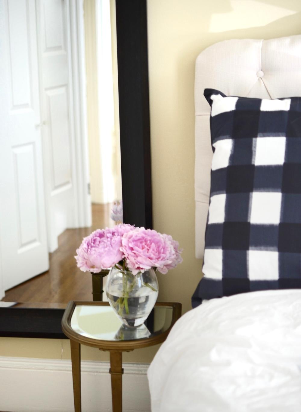 Pillows from Caitlin Wilson.