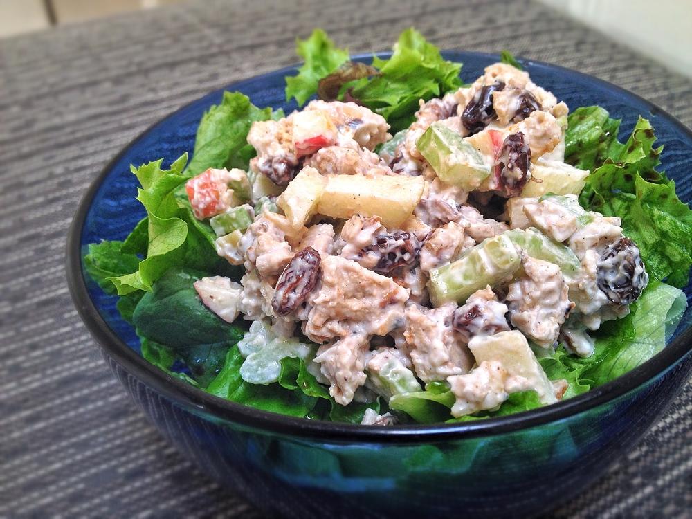 Waldorf Chick'n Salad