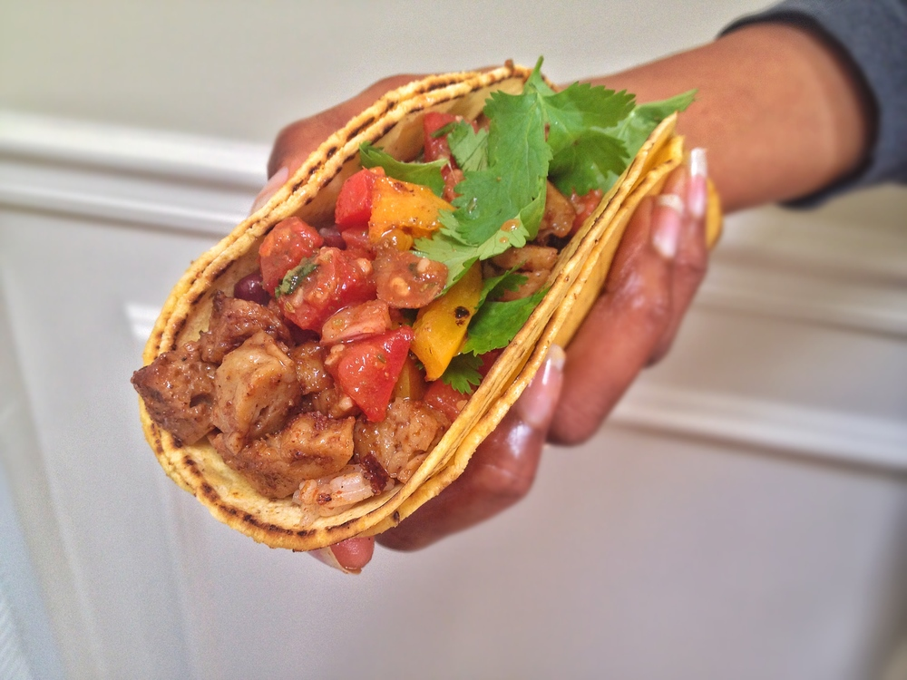 Soft Tacos with Seitan