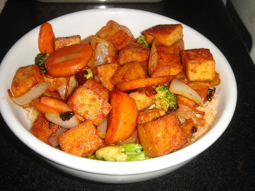 Veggie soul food teriyaki tofug forumfinder Gallery